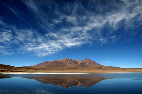 il lago Titicaca (Bolivia)
