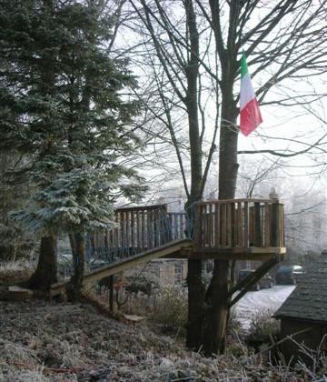 The Patriotic Tree Boat