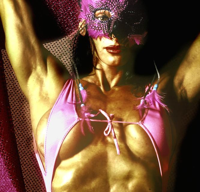 Riccione: Miss Olimpia. © Gerald Bruneau / Grazia Neri