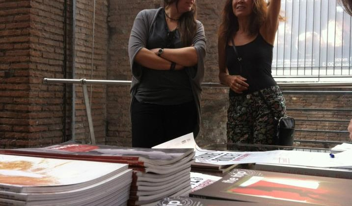 Cristina De Middel e Elaine Ling | backstage T.R.I.P. Mercati di Traiano - Fori Imperiali