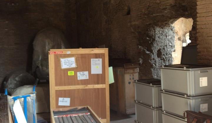backstage T.R.I.P. Mercati di Traiano - Fori Imperiali