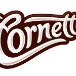 Cornetto PMS4695 Logo AW