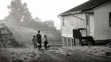 Pennsylvania, USA, villaggio Amish
