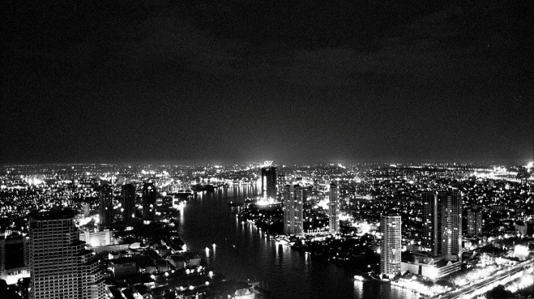 Pietro Masturzo | veduta notturna di Bangkok