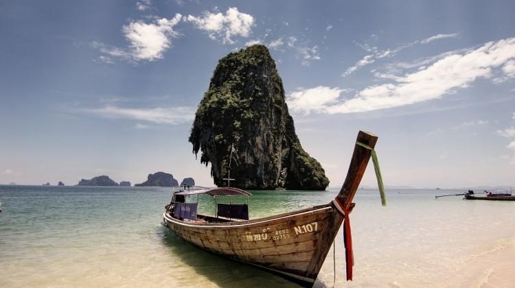la spiaggia di Phra Nang