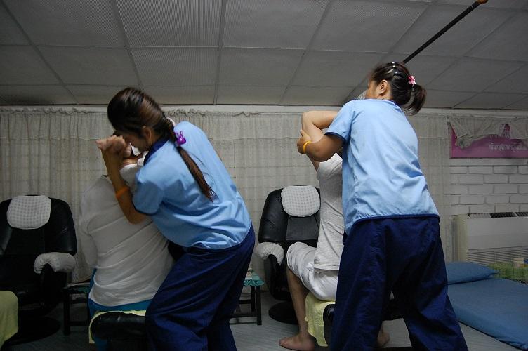 foto di Eric Franklin | la Spa all'interno del carcere femminile di Chiang Mai