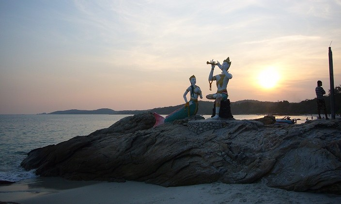 isola di Koh Samet spiaggia