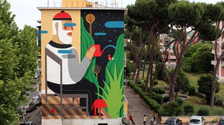 Agostino Iacurci the blind wall