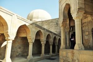 un particolare della Città Vecchia di Baku (Azerbagian)