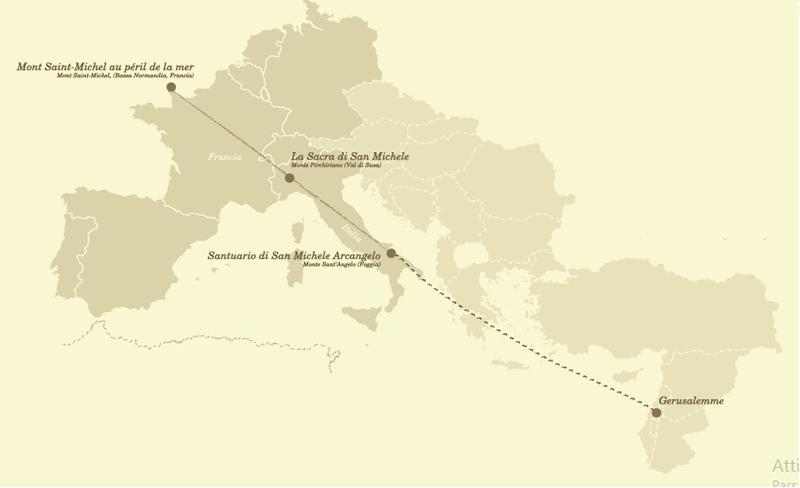 mappa_linea_sacra_di_san_michele_puglia_the_trip_magazine