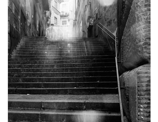 Uno scorcio dei Quartieri Spagnoli, Napoli