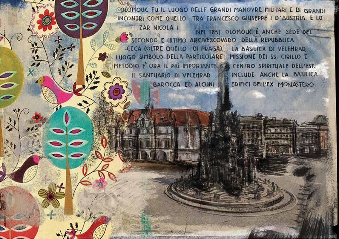 illustrazione di Sara Rambaldi | Repubblica Ceca (Moravia)  5