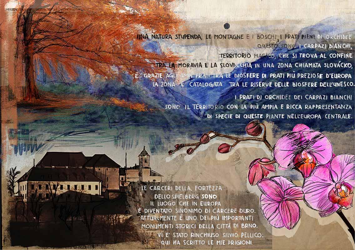 illustrazione di Sara Rambaldi | Repubblica Ceca (Moravia) 3
