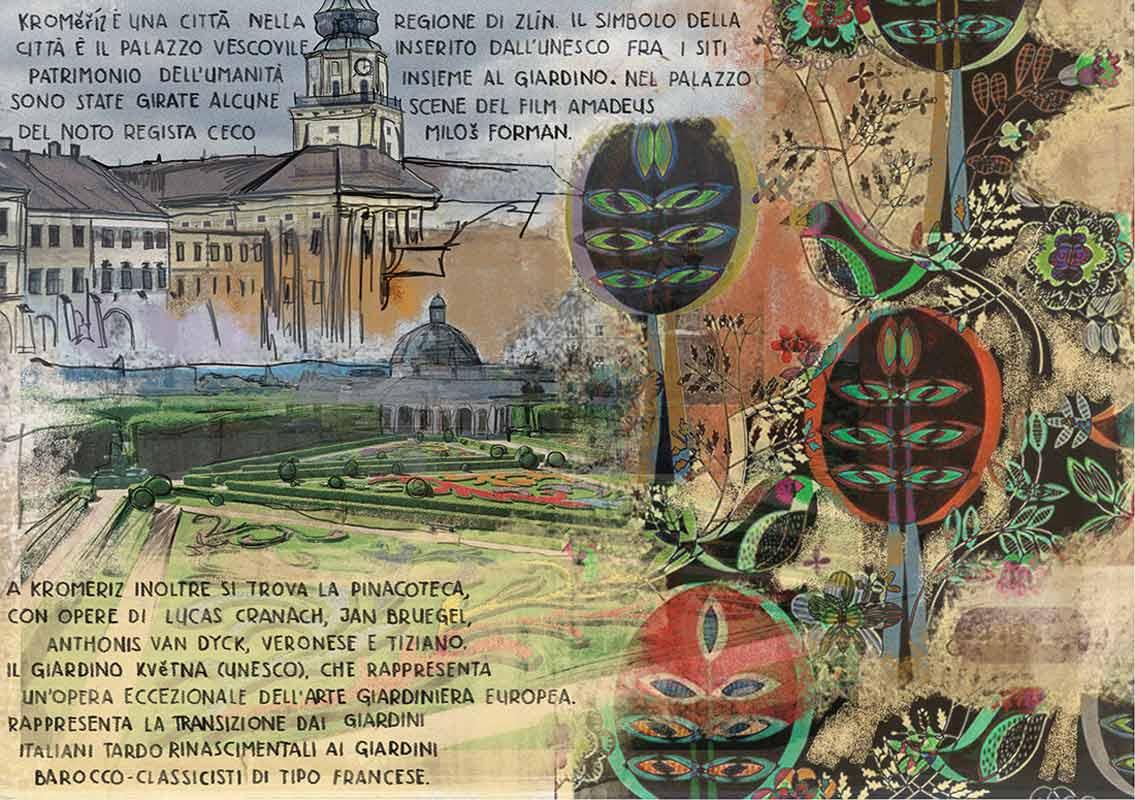 illustrazione di Sara Rambaldi | Repubblica Ceca (Moravia)  4