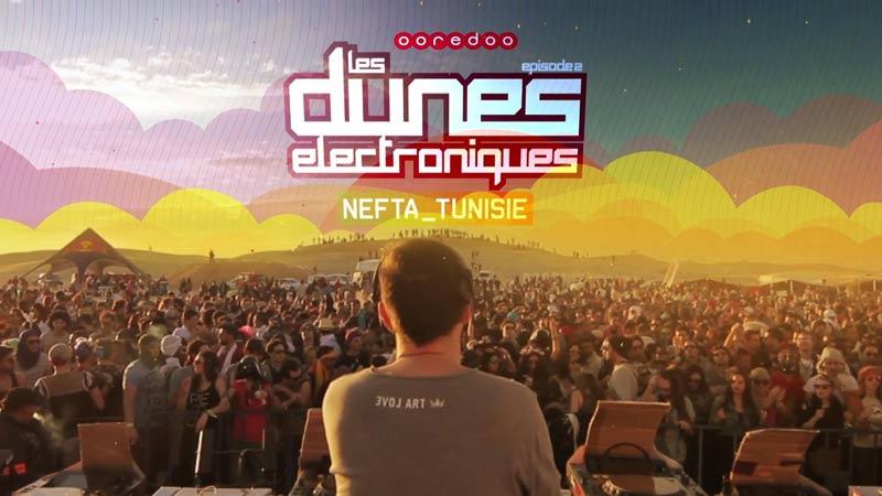 il festival Les Dunes Eletronique a Nefta in Tunisia