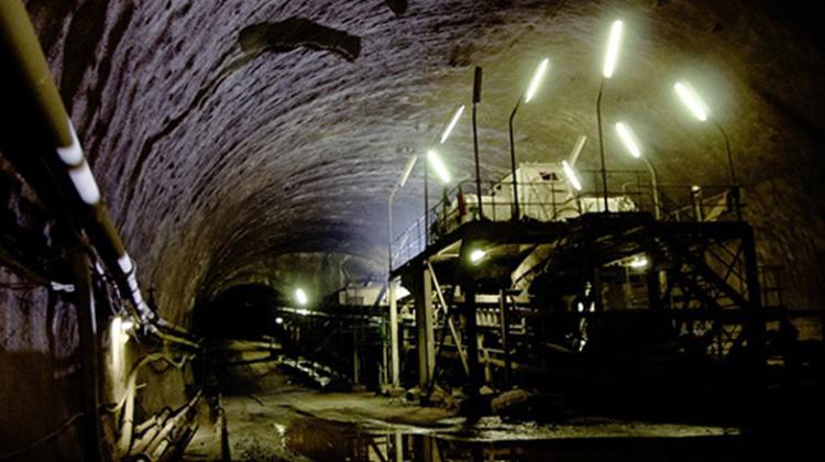 La cava ancora estrattiva della zona mineraria del Sulcis Iglesiente, l'area più povera della Sardegna e del Paese