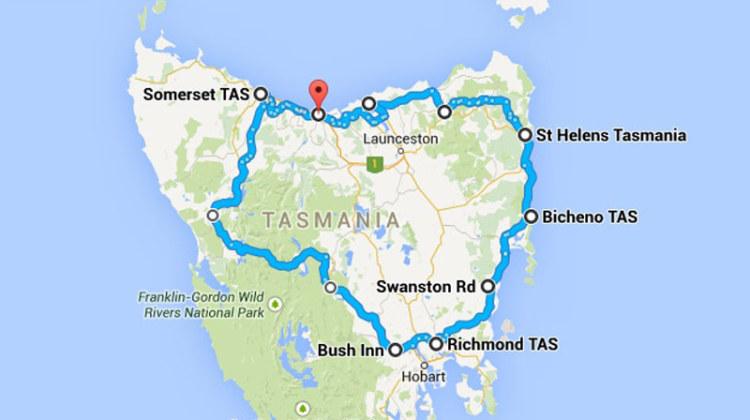 Il percorso di Alessandra in Tanzania: all'incirca 1.000 chilometri