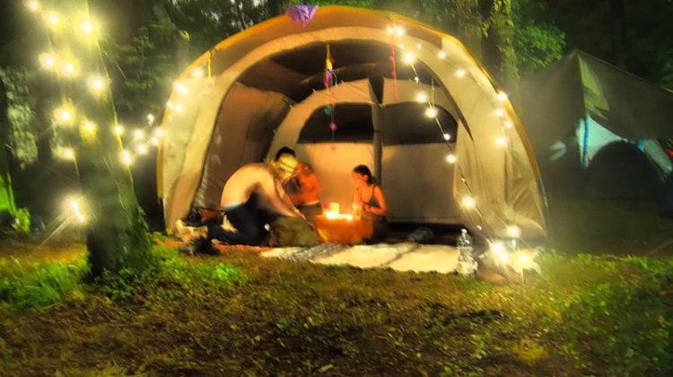 la tenda di the Trip