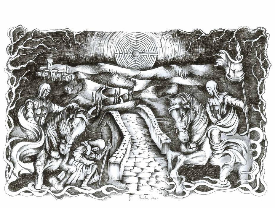 illustrazione di Alessandro Rosséguier
