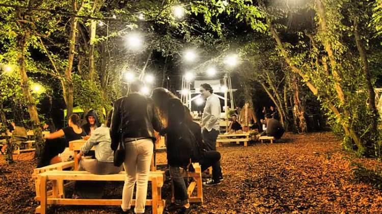 la zona food all'interno del parco di Villa Arconati