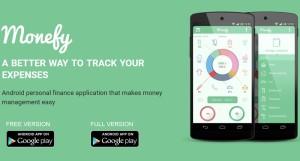 screenshot monefy applicazione