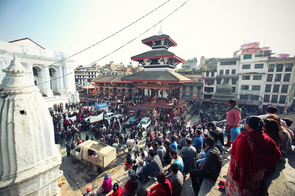 Centro di Kathmandu, Basantapur square