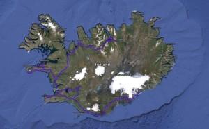 Mappa Islanda