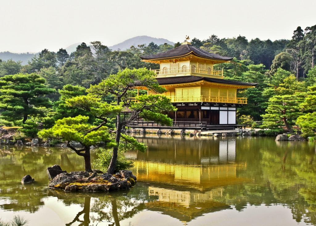 Tempio del padiglione d'oro - Kyoto