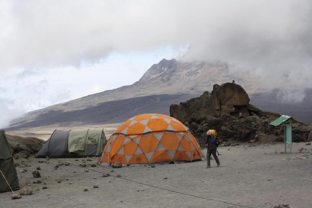 Kilimagiaro - Campo base