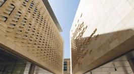 Il Parlamento realizzato a Valletta da Renzo Piano