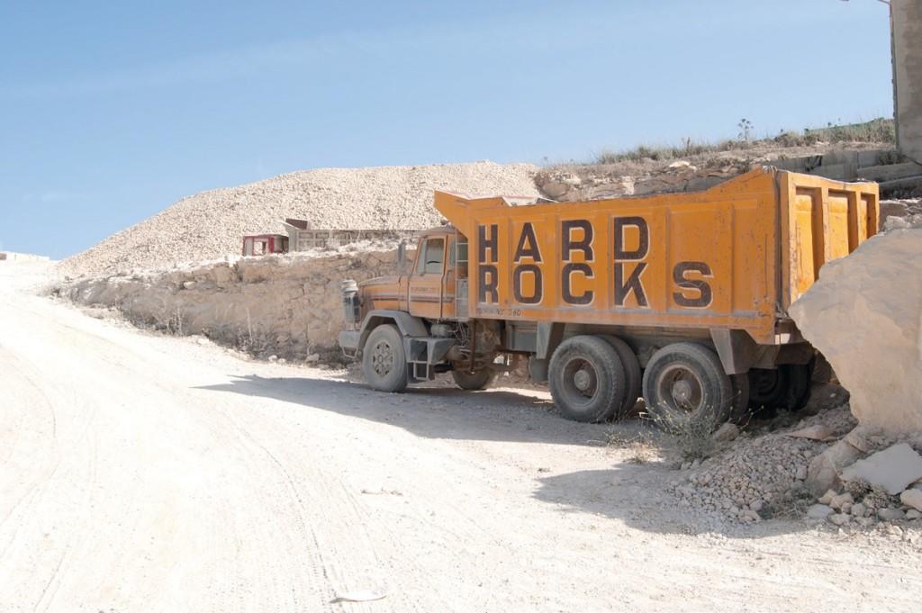 La cava di pietra maltese sull'isola di Gozo attiva dal 1972. Foto di Valentina Diaconale
