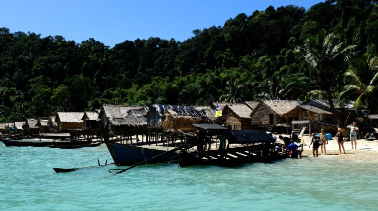 Isole Surin, villaggio Gipsy
