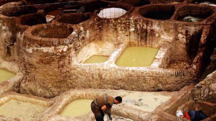 Le concerie di Fez