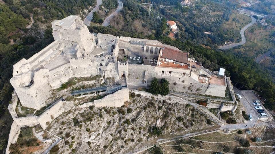 Castello di Arechi a Salerno. Foto di Vito Parlato