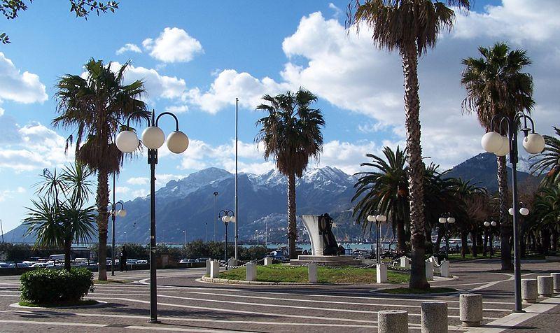 Promenade di Salerno. Foto di SOLOXSALERNO
