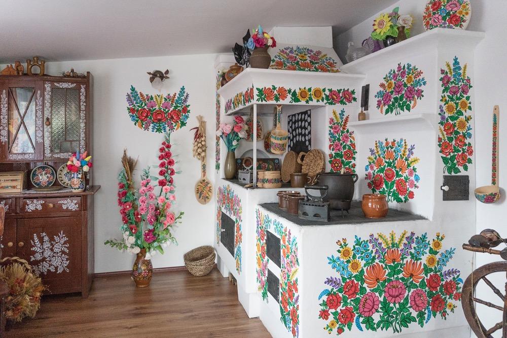 Zalipie - Villaggio Dipinto particolare artigiano