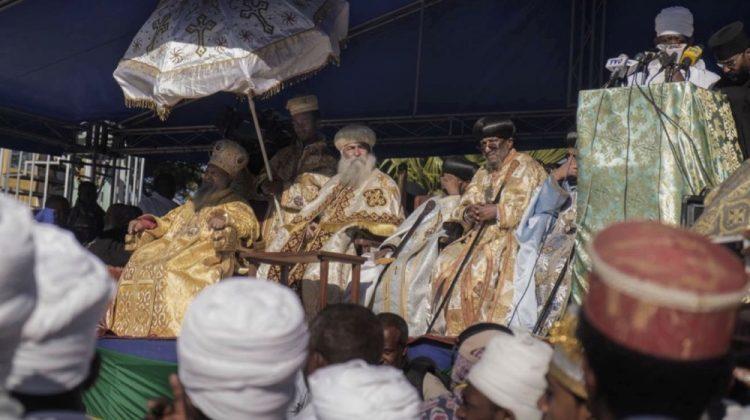 Il Patriarca e gli alti rappresentati della Chiesa Ortodossa