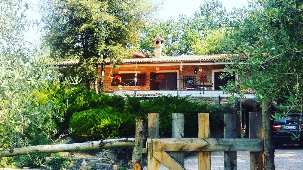 casa nella natura a Gerano